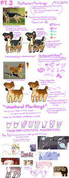 Design Tips: Markings, Studies+Being Creative Pt.3 by puppsicle