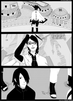 contest entry:Uchiha Sarada the 9th Hokage! by Ahzusa