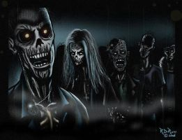 Zombies from the Grave by rdricci
