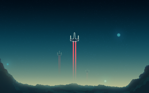 X-Wing Wallpaper by TheAdamTaylor