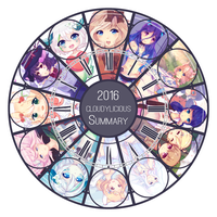 2016 by cloudylicious