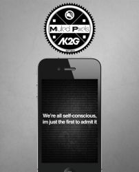 Self Conscious iOS Wallpaper by TevinFields