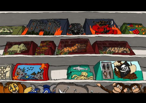 toy section by LuisBrancoac