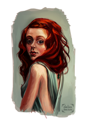 The artist workout jar #1: Redhead by deliatee
