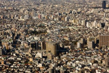 Tokyo from above by madcury