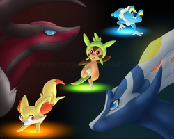 +Generation X and Y+ by min-mew