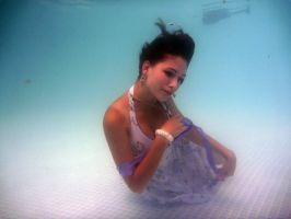 Purple Dress Underwater 3 by Orkiss