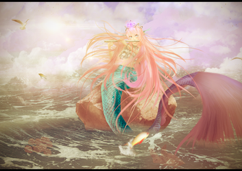 [MMD] .:The Echo Of The Ocean:. by Pocky-Poison