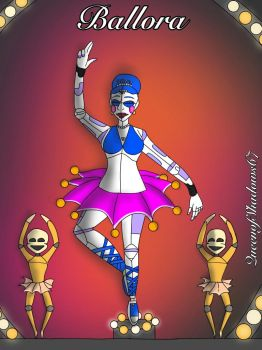 Ballora - Sister Location by QueenOfShadows67