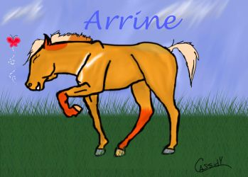 Arrine by Iris-and-Ebenos