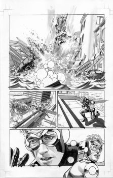 FEAR ITSELF HOMEFRONT 5 Pg2 BW by mikemayhew