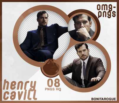 PACK PNG 207 // HENRY CAVILL by OMG-PNGS