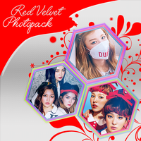 Red Velvet - Dumb Dumb Photopack by mayradias