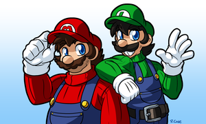 Mario bros by rongs1234