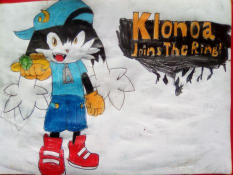 Klonoa enters the battle by TheOneAndOnlyCactus