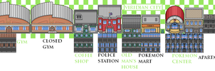 Viridian City Tiles by PokemonEclipse