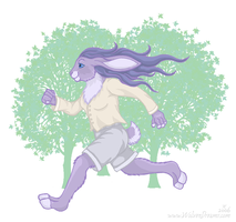 Run like the wind by Skychaser