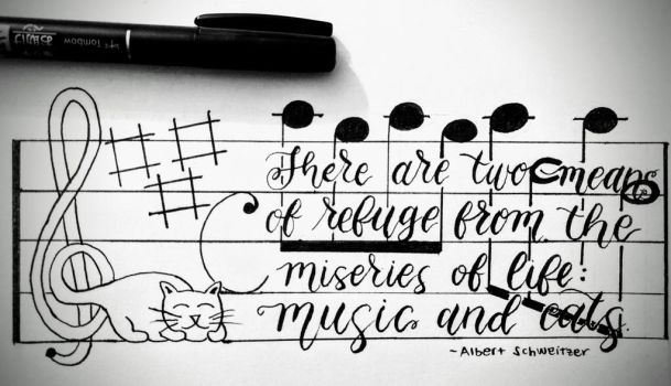 Music and Cats by therealestlo
