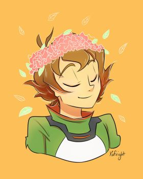 Flower Crown Pidge + speedpaint by xafright