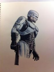 The Real Robocop by immyownscaffold
