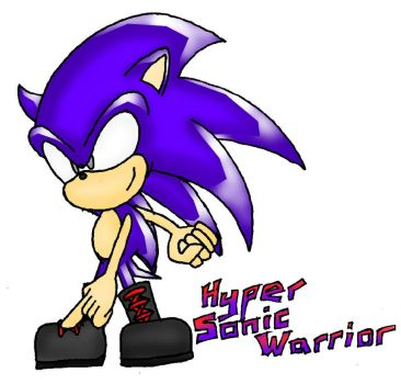 Hyper Sonic Warrior by TrudiSpeed
