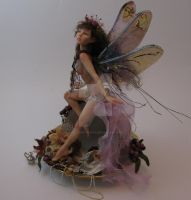 tea cup faerie by polymer-people