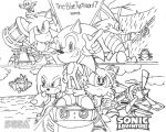 Sonic Adventure Artwork (Again) by BlueTyphoon17