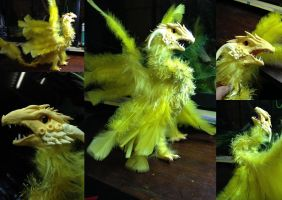 Sythic - Poseable Air Dragon - SOLD by SonsationalCreations