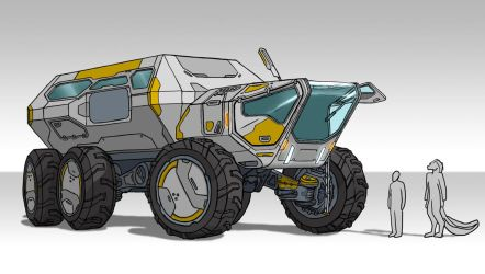 Off-road rover by darth-biomech