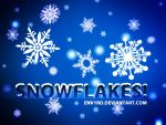 Snowflakes Photoshop Brushes by env1ro