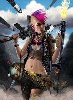 TANK GIRL by RobShields