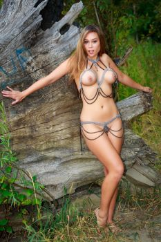 Heather in Chains at Sauvie 1 by Mac--Photo