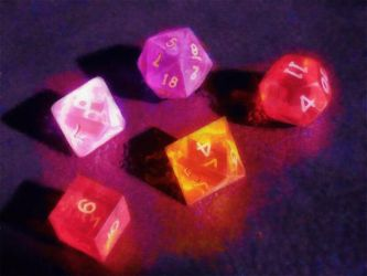 Fantasy Dice by LaurionStudio
