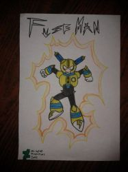 Fuse Man by MicaelHD