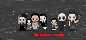 The Addams Family by GoddessofSong