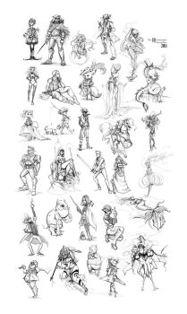 The 30 Characters Challenge by Alicechan
