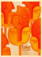 FAKE FACES FOR LIVE by nadydesign