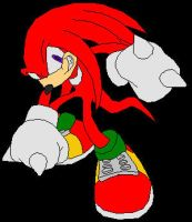 Knuckles the Echidna by Silence-Is-Loud