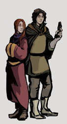 A pair of adventurers by Miae