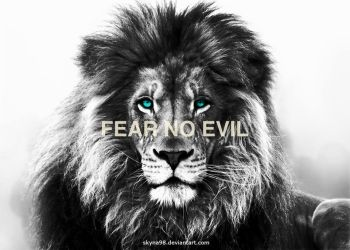 Fear No Evil Lion by Skyna98