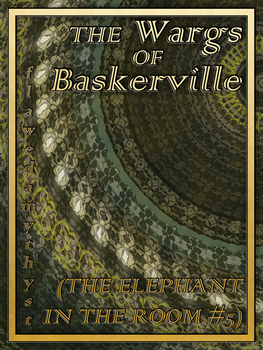 Cover: The Wargs Of Baskerville, by flawedamythyst by Trishkafibble