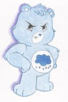 Grumpy Care Bears by theONLYjaystar