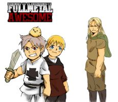TheFullmetal Awesomest by dieingcity