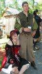Felix and Dion renfest 2005 by felixxkatt