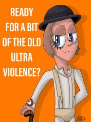 Ready for a bit of the old Ultraviolence? by RaynaOfTheDead
