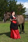 horse lady stock 5 by The-Wild-Kat