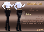 [MMD] clothing, outfit - download