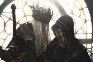 Lorian and Lothric Twin Princes by Akunohako