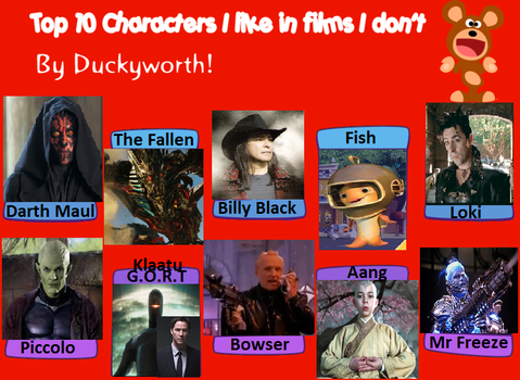 Character I Like In Films I Don't by Jioseph-superfan63