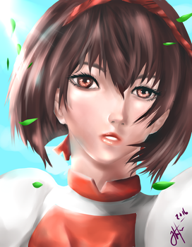 Suikoden 2 Nanami by Rochefore